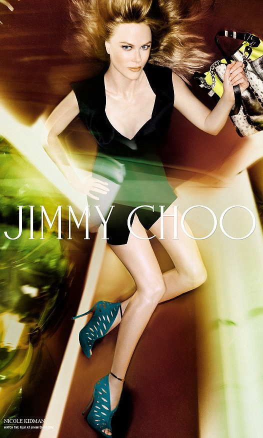 Nicole Kidman, 46, strips down and strikes a series of sultry poses for a sexy new  Jimmy Choo campaign.