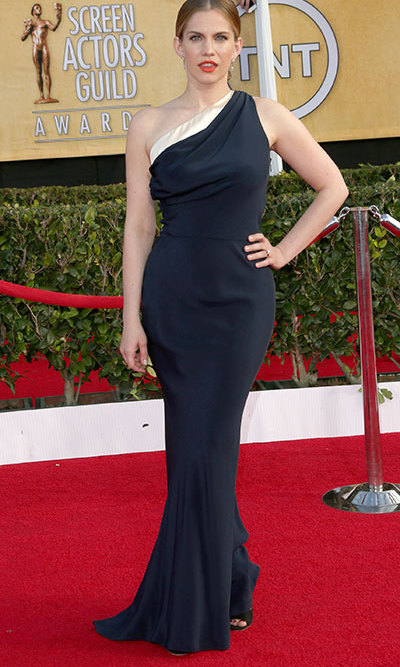 'Veep' actress Anna Chlumsky in Sophie Theallet