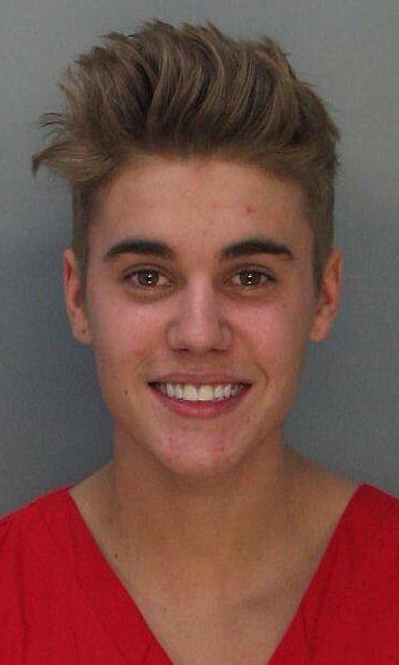 "Despite smiling in his mugshot Justin was apparently seen ""crying his eyes out"" after being arrested."