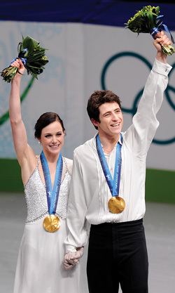 are the canadian ice dancers dating