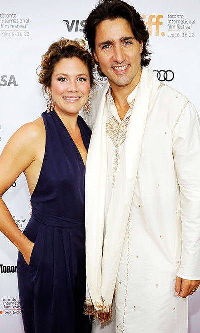 Justin Trudeau And Wife Sophie Gregoire Welcome Son Hadrian