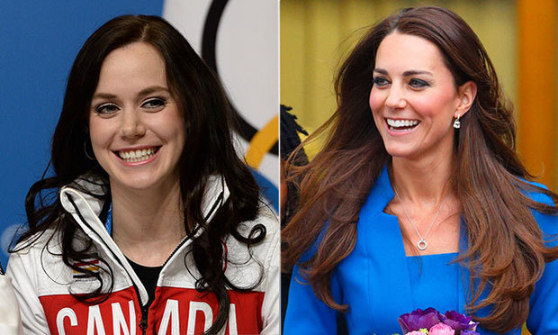 Tessa Virtue Gushes About Kate Middleton She S Perfect