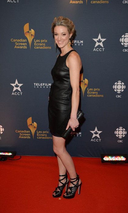 'Lost Girl' star and Fan Choice winner Zoie Palmer in Elizabeth and James