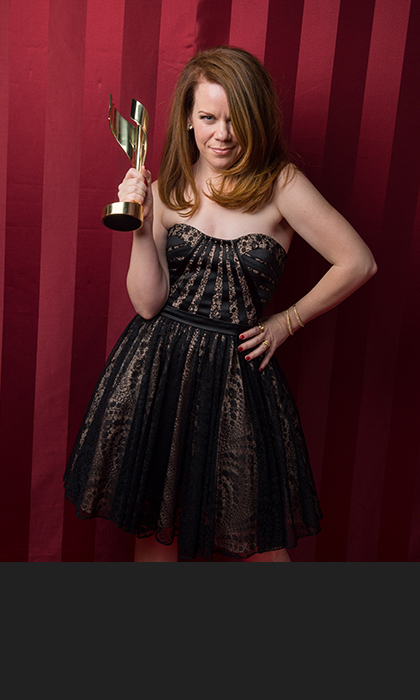 Tracy Dawson of 'Call Me Fitz,' who won Best Performance by an Actress in a Comedic Role.