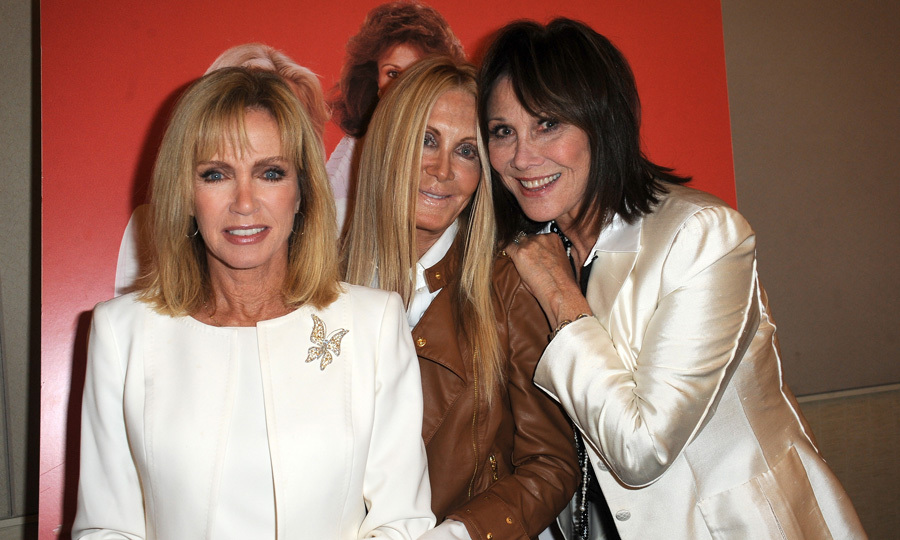 Donna with her 'Knots Landing' costars Joan Van Arc and Michele Lee. Photo: © Getty Images