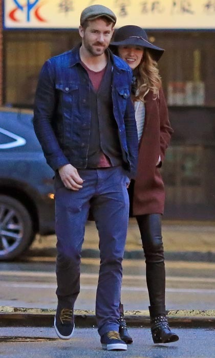 Blake Lively And Ryan Reynolds Enjoy A Romantic Chinatown Date In Vancouver