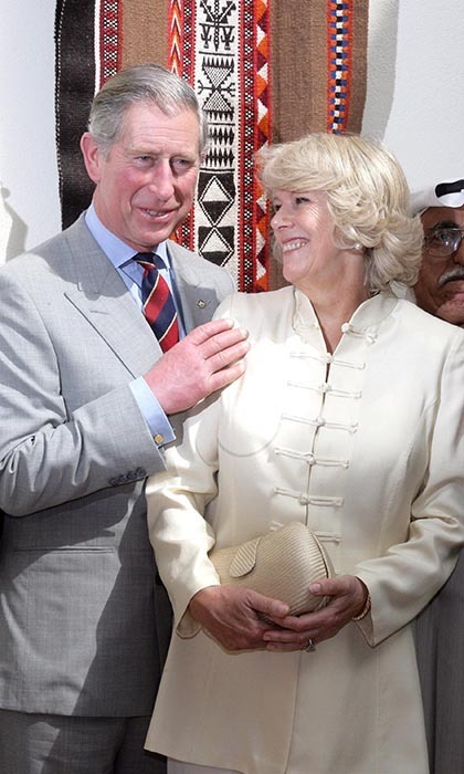 2007: Their love was palpable during a visit to Kuwait City, where the Duchess was photographed beaming at her love.
