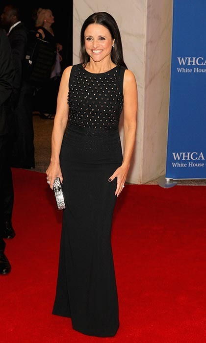 Julia Louis-Dreyfus in Antonio Berardi