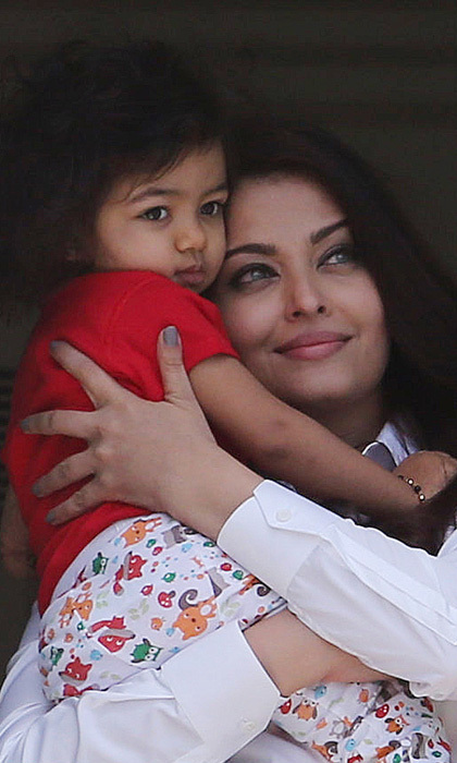 "AISHWARYA RAI: ""Motherhood has, by far, been just the most superlative experience of unconditional love I have ever experienced. I consider it an immense blessing. It has been a very, very natural role for me to embrace and I am loving every millisecond of it."" - The Star"
