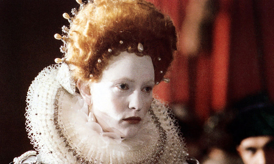 In 'Elizabeth,' Cate Blanchett plays Queen Elizabeth I after she is elevated to the throne on the death of her half-sister Mary I, who had previously imprisoned her. Cate earned an Oscar nomination for the role, which catapulted the actress to international stardom.