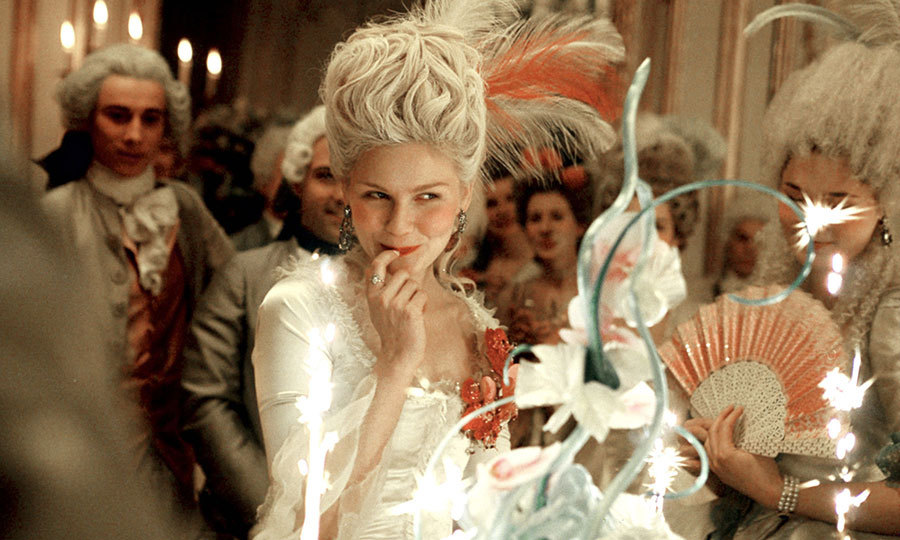 The historical comedy-drama 'Marie Antoinette' is a sympathetic portrayal of the Austrian princess, played by Kristen Dunst. It follows her rise and fall as the last queen of France before the revolution.
