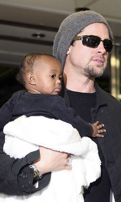 Angelina had adopted a daughter from Ethiopia, Zahara, the year before.