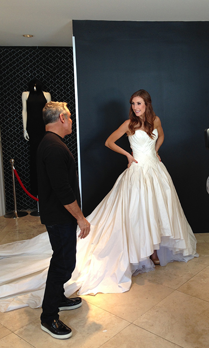 Having my Disney princess moment in Mark Zunino, with Mark Zunino!