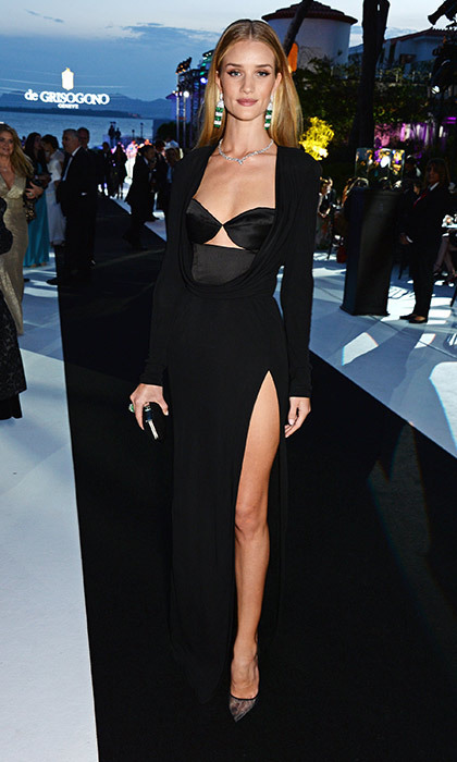 Rosie Huntington-Whiteley at the de Grisogono party.