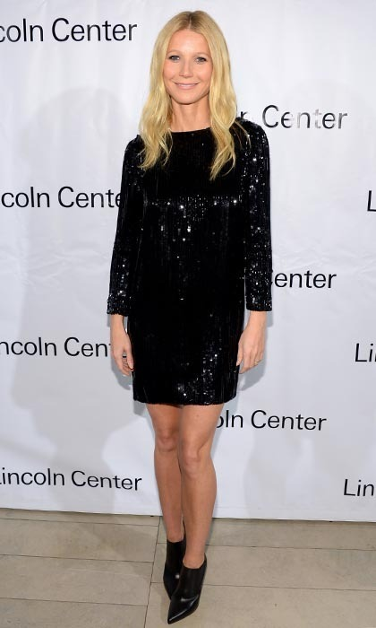 Actress Gwyneth Paltrow rocked the Great American Songbook red carpet this past February dressed simply in a sequined Saint Laurent dress. But the shimmering number didn't steal the spotlight from the A-lister's polished pins - in part thanks to her trainer, Tracy Anderson.
