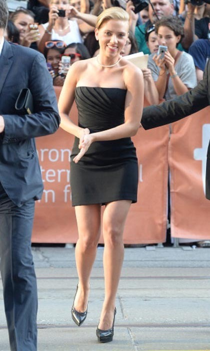 Scarlett Johansson is always a bombshell, and the curvaceous 'Don Jon' star even showed off her curves in the opening credits of 'Lost in Translation.' She later brought her gams to the 2013 Toronto International Film Festival, where a barely-there Saint Laurent LBD made her legs the star of this red carpet.