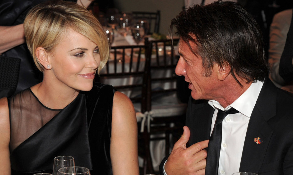 Charlize Theron and Sean Penn at the 3rd Annual Sean Penn & Friends Help Haiti Home Gala in January 2014. (Photo: Kevin Mazur, Getty Images)