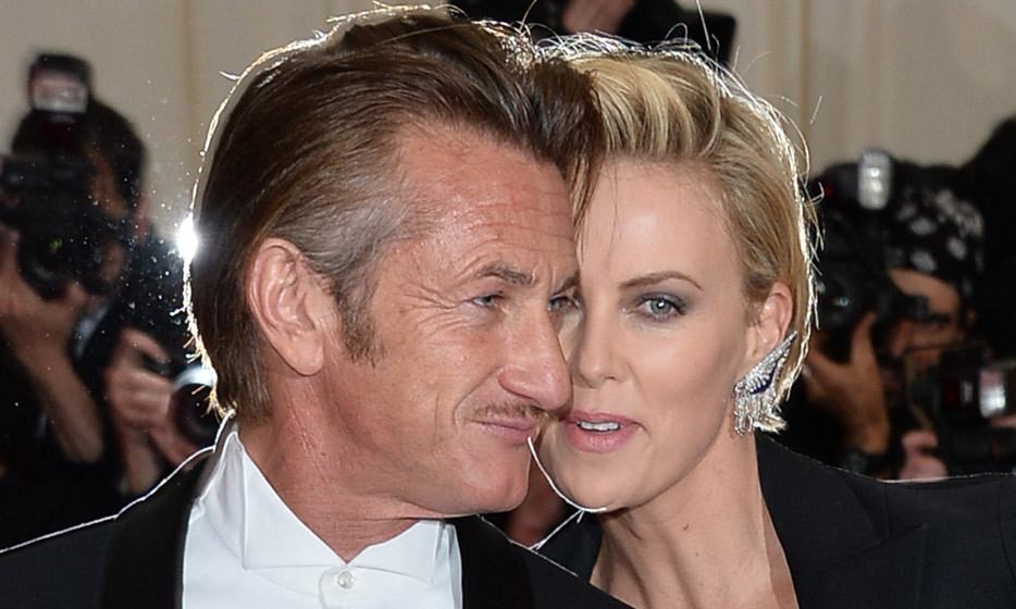 Sean Penn and Charlize Theron at the 2014 Met Gala. (Photo: George Pimentel, WireImage)