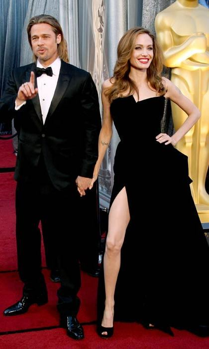Her infamous appearance at the Oscars 2012