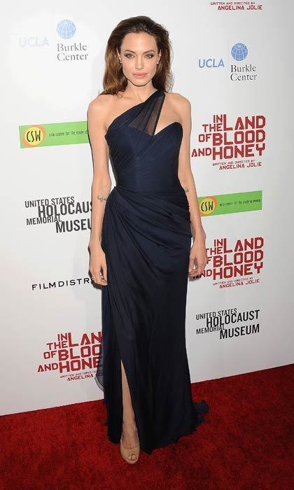 Attending the In The Land Of Blood And Honey premiere in December, 2011