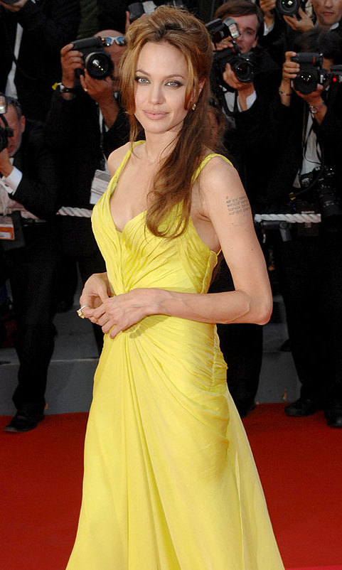 On the red carpet for the Cannes premiere of Ocean's 13 in May 2007