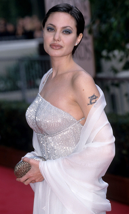 At the Golden Globe Awards in January 1998