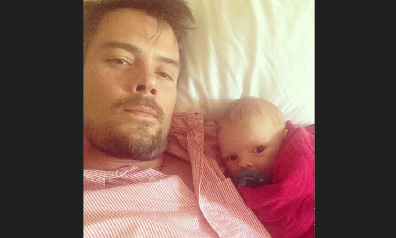 Josh Duhamel and Fergie welcomed their first son, Axl Jack Duhamel, on Aug. 29, 2013. The pair often show off their cute little one via social media photos.