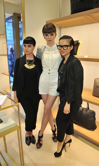 Adrien Reynolds, Coco Rocha and Veronia Chu (Photo: George Pimentel Photography)