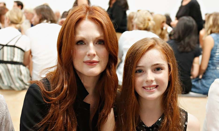 From their long fiery locks to that flawless porcelain skin, Julianne Moore's daughter, Liv Helen Freundlich, got all of mom's most superb features. But only time will tell if she follows mom to the big screen. Photo: © Getty