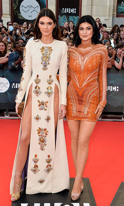 Kendall Jenner and Kylie Jenner. Photo: © Getty/George Pimentel