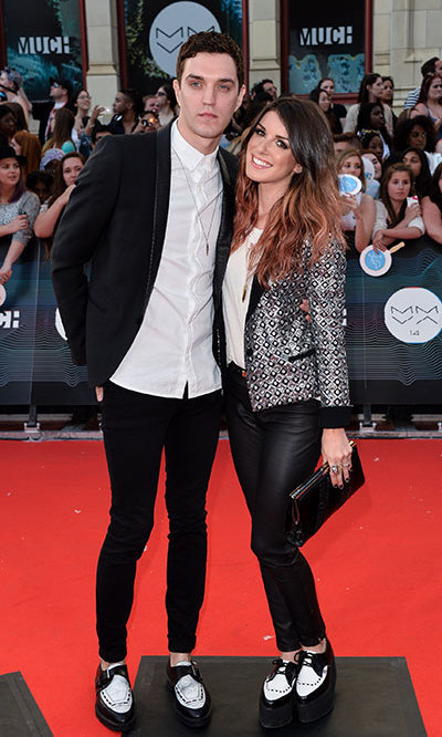 Shenae Grimes-Beech And Josh Beech. Photo: © Getty/George Pimentel