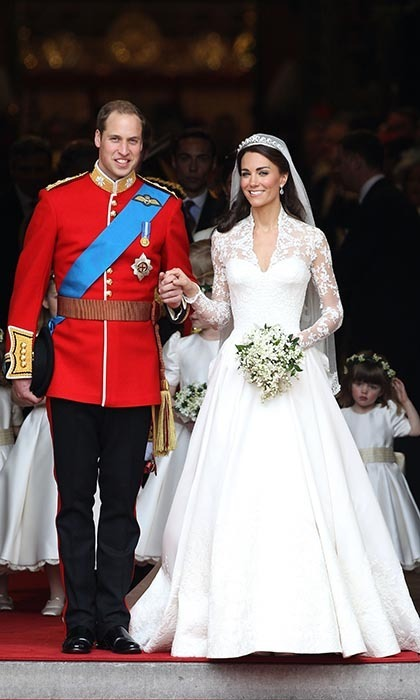 Two billion people tuned in to watch Prince William marry Kate Middleton at Westminster Abbey on April 29, 2011 in London, England.