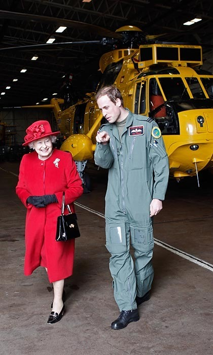 For several years, the Duke of Cambridge worked as a Royal Air Force rescue pilot, a role that enabled him to take an active role in the armed forces without being deployed on combat operations. He gave up his wings as a last year to embark on full-time royal duties.