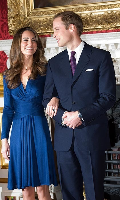 Will and kate dating years