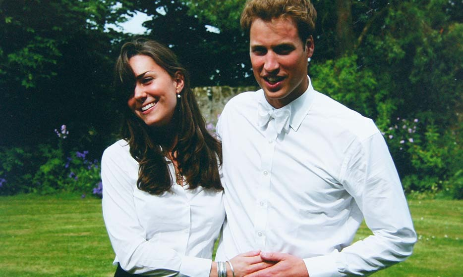Captured at St Andrews University on their graduation day on June 23, 2005, this now-iconic photo shows the Duke and Duchess of Cambridge as young lovers. They lived in the same halls of residence, studied together and shared an apartment with friends, cementing their romance for the years to come.