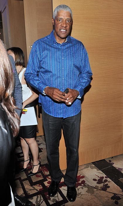 "Julius ""Dr J"" Erving (Photo: Sonia Recchia/George Pimentel Photography)"