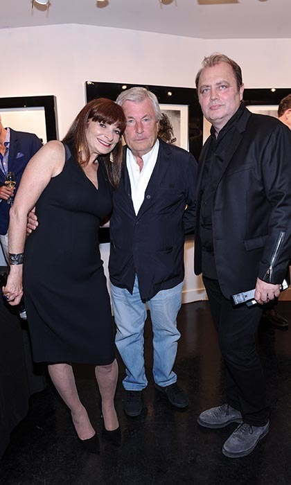 Jeanne Beker, Terry O'Neill and Izzy Sulejmani (Photo: Sam Santos/George Pimentel Photography)