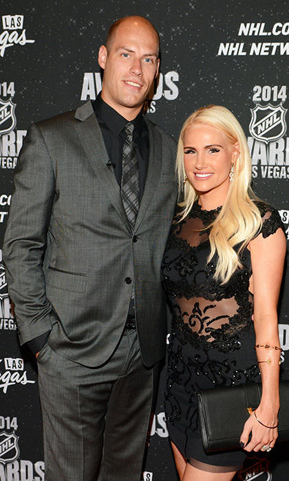 Anaheim Ducks Captain and Hart Trophy nominee Ryan Getzlaf and wife, Paige Getzlaf (Photos: Steve Spatafore)
