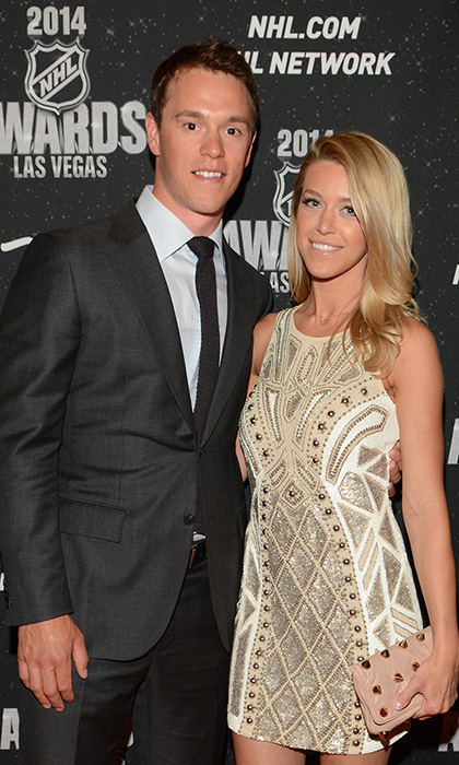 Chicago Blackhawks Captain Jonathan Toews and girlfriend Linsdey Vecchione (Photos: Steve Spatafore)