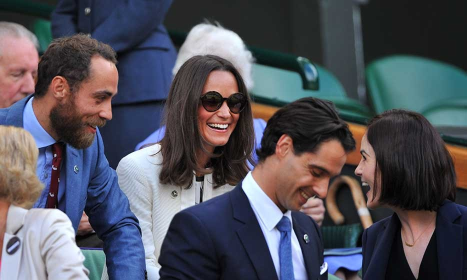Pippa and James Middleton – sister and brother of the Duchess of Cambridge – were seen chatting up Downton Abbey star Michelle Dockery in the Royal Box before watching Rafael Nadal take on Lukas Rosol on day four.
