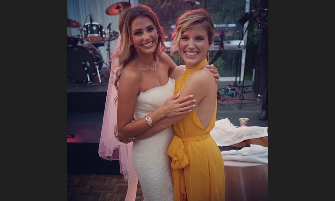"Friend of the bride, actress Sophia Bush, posted a sweet tribute to Yael Cohen on her Instagram: ""Congratulations to my beautiful bunny, the bride. @yael, you are one of the kindest, most intelligent, giving people I know. I'm so happy you've found your other half. Here's to a lifetime of love. #SYBwedding"" Photo: © Instagram"