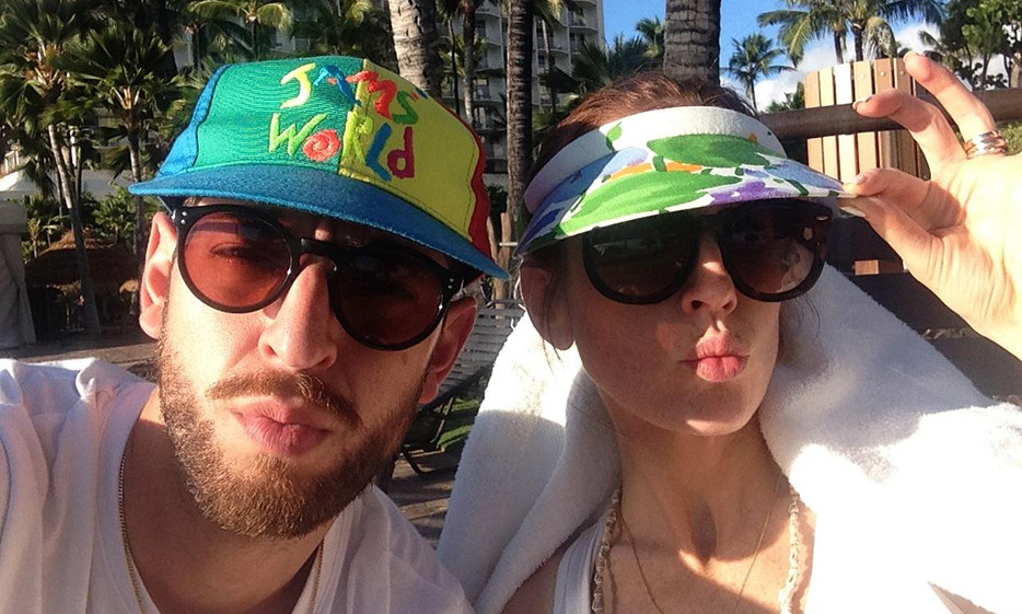 Our Honeymoon hat game is on point at the Westin Maui Resort & Spa.