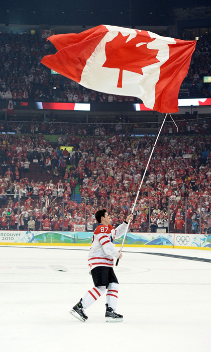 The good ol' Canadian boy has captained two national teams to gold medals at this year's Olympics in Sochi and who can forget Sidney's thrilling game winning goal in overtime against the United States at the 2010 Vancouver games.