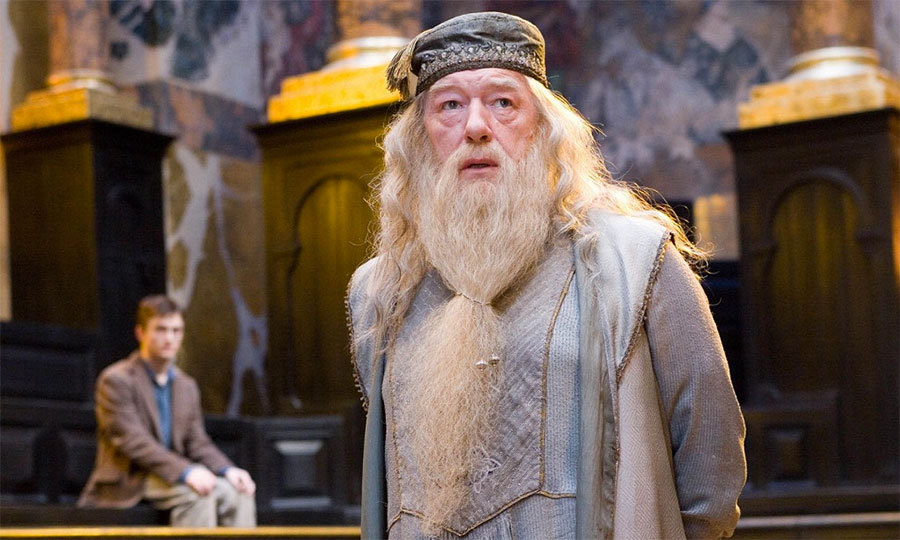 "After finishing the books, Ms. Rowling revealed that she ""always thought"" Dumbledore was gay."
