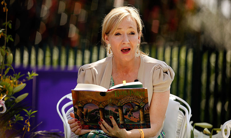 "Publishers suggested that Joanne Rowling use the name ""J. K."" to appeal to male readers. She took the ""K"" from her grandmother's name, Kathleen, since she has no middle name of her own."