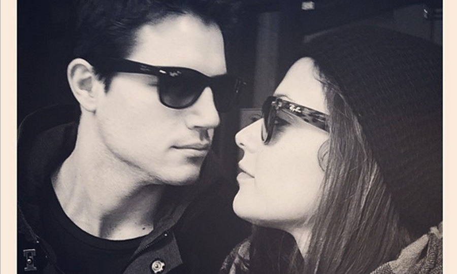 Robbie Amell And Italia Ricci Are Engaged Their Cutest