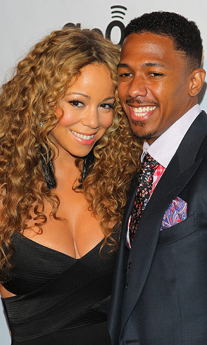 Nick Cannon has confirmed that he and wife Mariah Carey are living apart