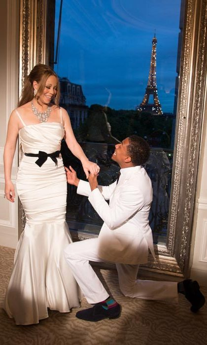 Mariah Carey and Nick Cannon renewed their vows in Paris in 2012