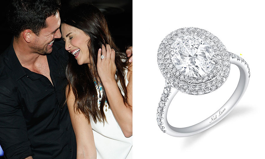 Emerald Ring Celebrity Celebrity Engagement Rings