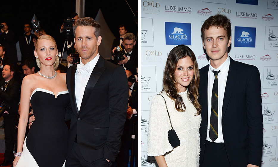 THEY BOTH LOVE CANADIAN BOYS: Blake married Vancouver-native Ryan Reynolds in a private ceremony in Charleston, South Carolina in September 2012, while Rachel found love with Toronto's Hayden Christensen on the set of 2008's 'Jumper.'